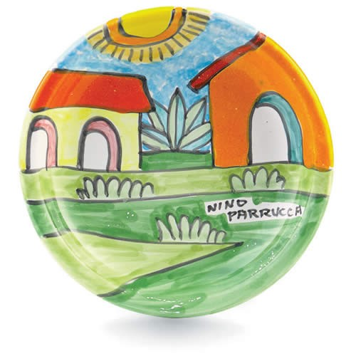Parrucca Small Dish - Village
