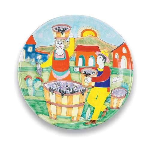 Parrucca Round Serving Platter