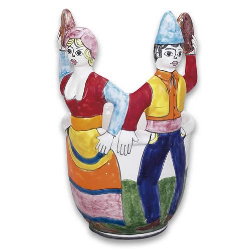 Cachepot - Tarantella Dancers