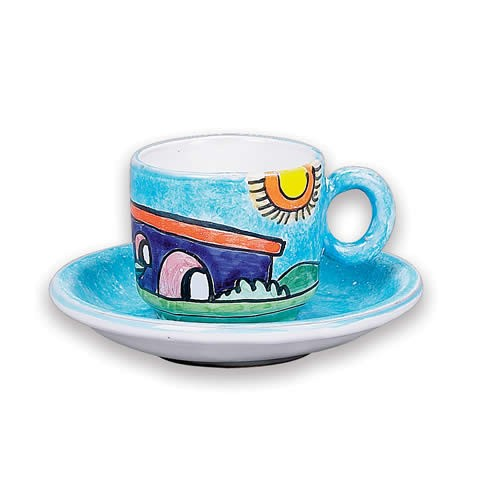 Parrucca Espresso Cup and Saucer