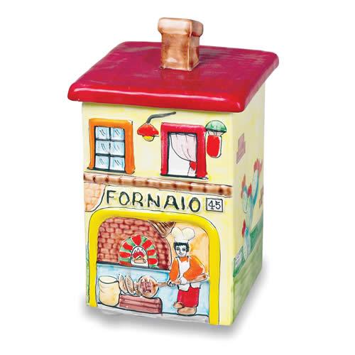 House-shaped Cookie Jar