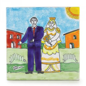 Parrucca Square Tile - Wedding