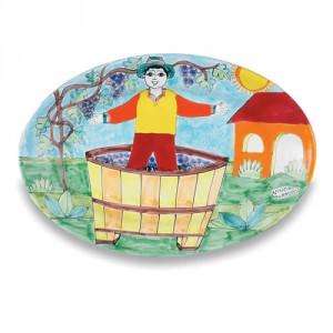 Parrucca Oval Dish