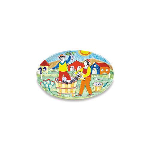 Parrucca Large Oval Platter