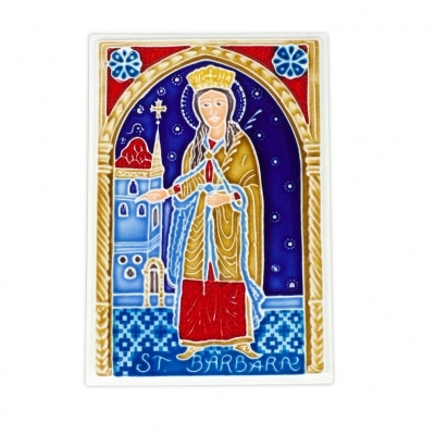 St. Barbara Tile