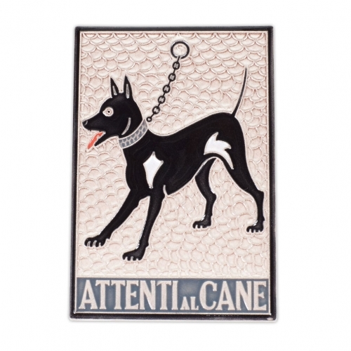 Beware of Dog Tile