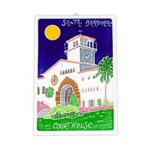 Santa Barbara Courthouse Tile
