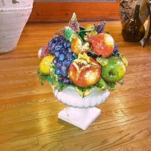 Footed Fruit Centerpiece