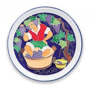 Amalfi Autumn Plate