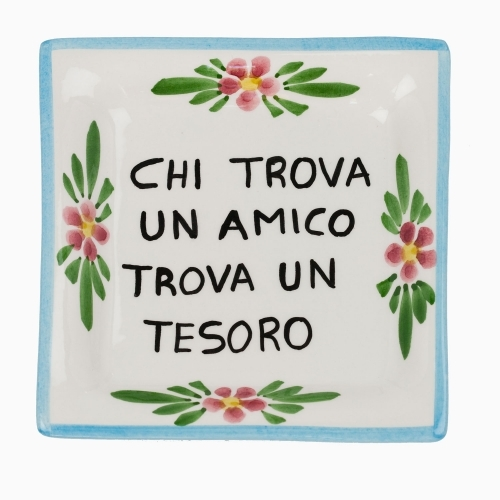 Small Proverb Plaque