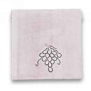 Square Dish - Grapes
