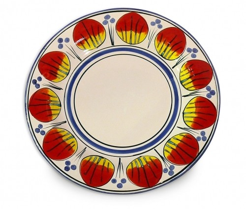 Allegria Round Serving Plate