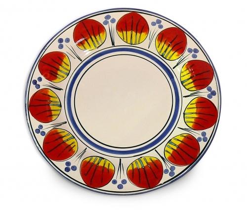 Allegria Round Serving Plate