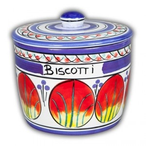 Allegria Biscotti Jar