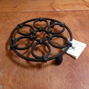 Biagiotti Wrought Iron Trivet