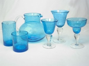 Bubble Glass Turquoise