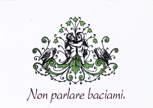 """Non parlare"" - Pack of 6"