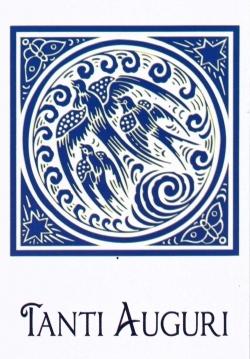 """Tanti Auguri"" Card - Pack of 6"