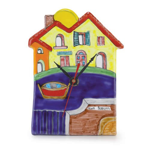 House-shaped Clock