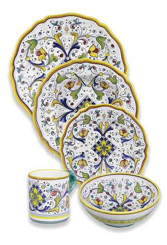 Firenze Dinnerware Place Setting
