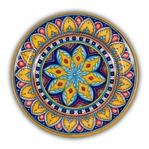 Geometrico Round Platter Pattern A
