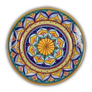 Geometrico Round Platter Pattern B