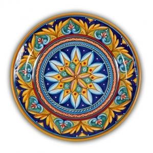Geometrico Round Platter Pattern D