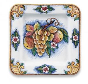 Bianco Fresco Square Plate