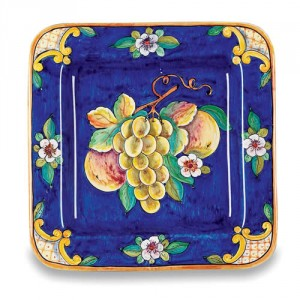 Uva Fresca Square Plate