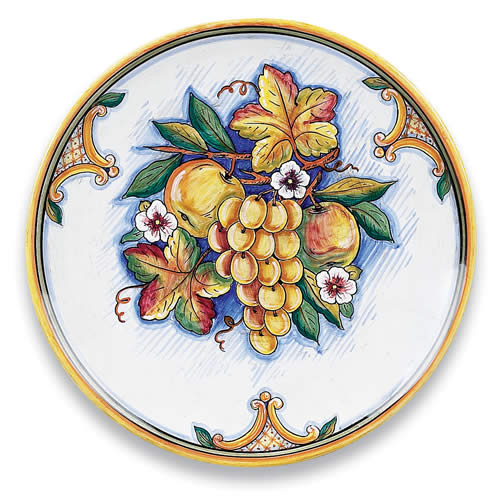 Bianco Fresco Round Platter