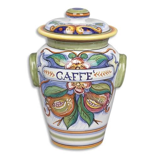 Bianco Fresco CAFFE Canister