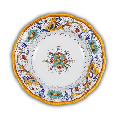 Raffaellesco Fluted Dinner Plate
