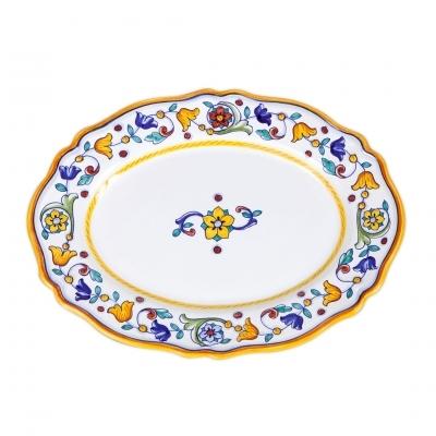 Primavera Fluted Oval Platter
