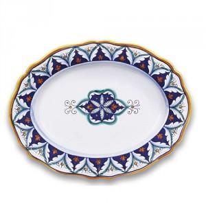 Geometrico Fluted Platter