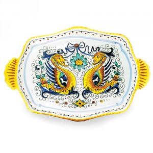 Raffaellesco Large Platter with Two Handles