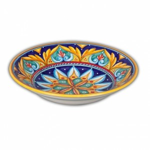 Geometrico Soup-Pasta Bowl Pattern D