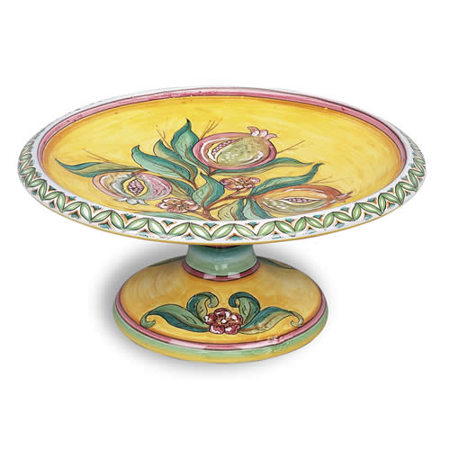 Melograno Fresco Footed Bowl
