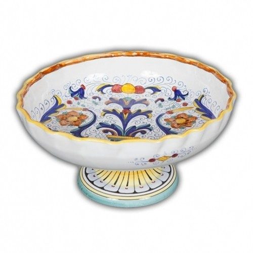 Ricco Fluted Footed Fruit Bowl