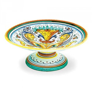 Raffaellesco Footed Fruit Bowl