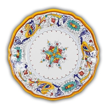 Raffaellesco Fluted Salad Plate