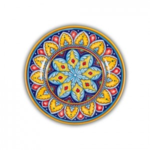 Geometrico Salad Plate Pattern A