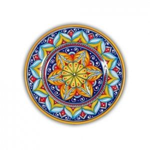 Geometrico Salad Plate Pattern C