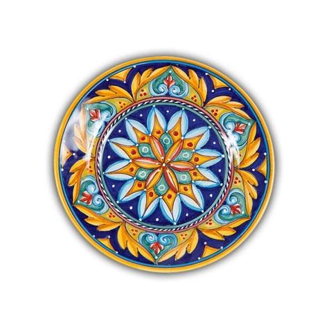 Geometrico Salad Plate Pattern D