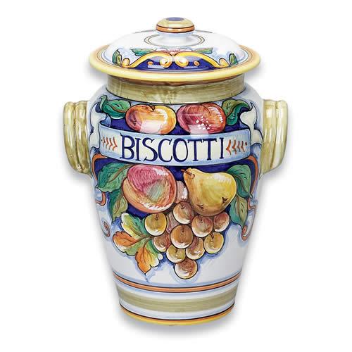 Bianco Fresco Biscotti Jar