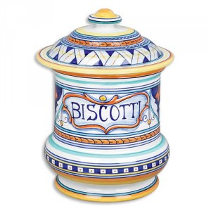 Geometrico Biscotti Jar