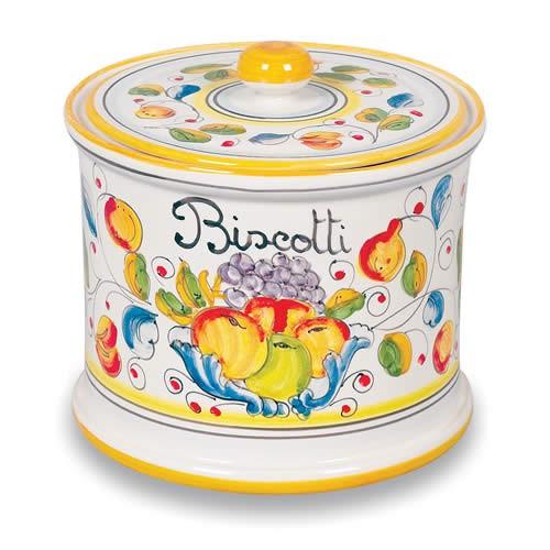 Miele Biscotti Jar