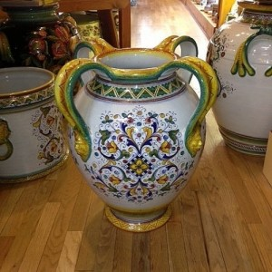 Firenze Urn with Handles