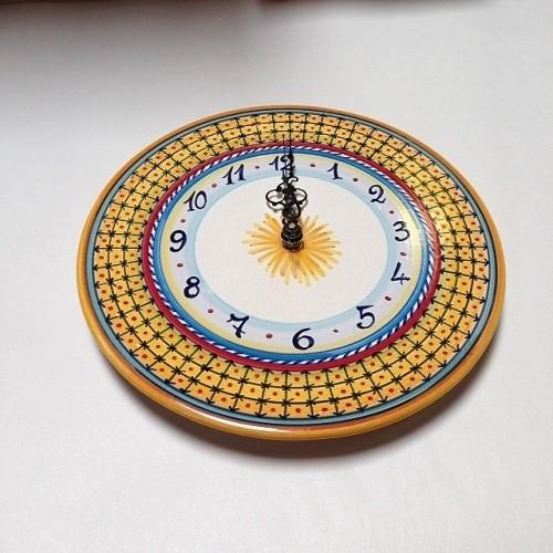 Large Geometric Clock Style 3