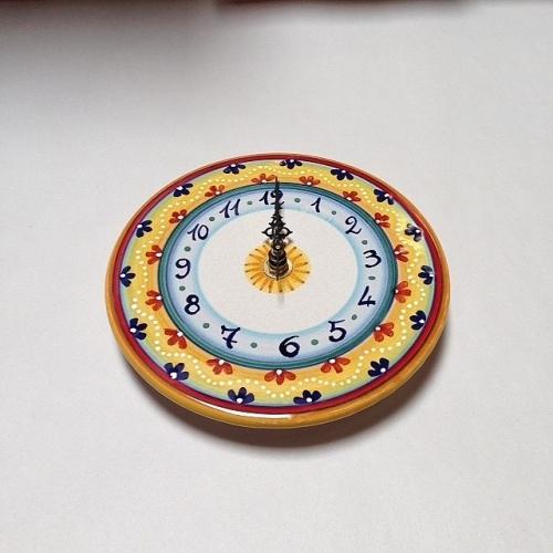 Small Geometric Clock Style 6