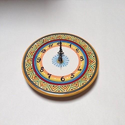Small Geometric Clock Style 7
